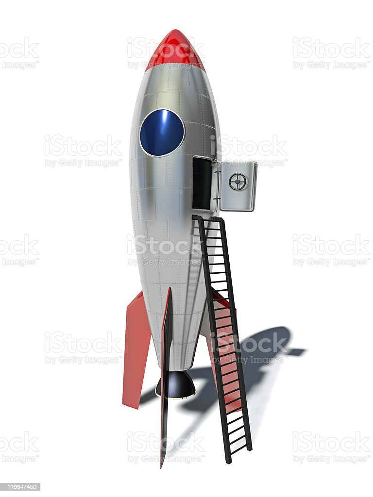 Rocket royalty-free stock photo