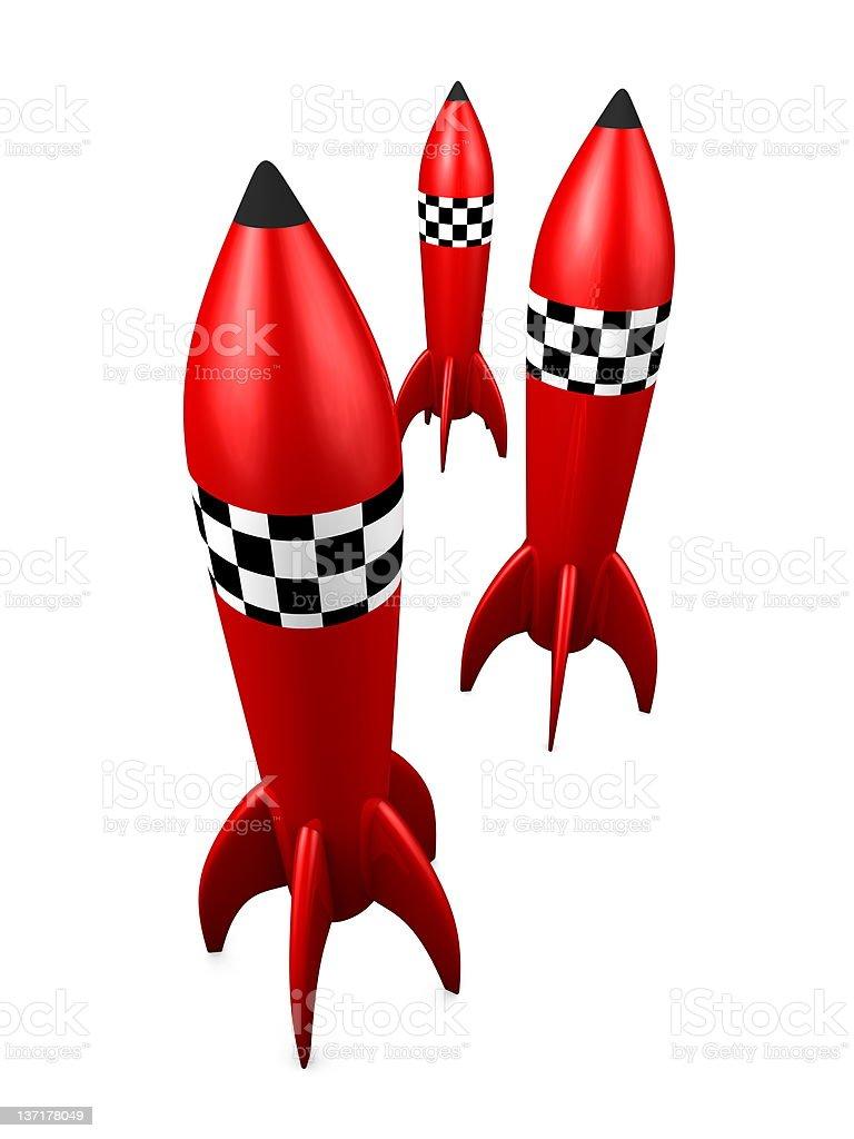 Rocket royalty-free stock photo