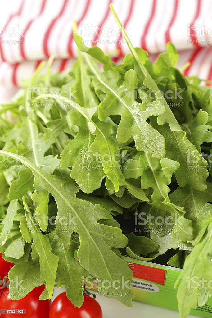 rucola royalty-free stock photo