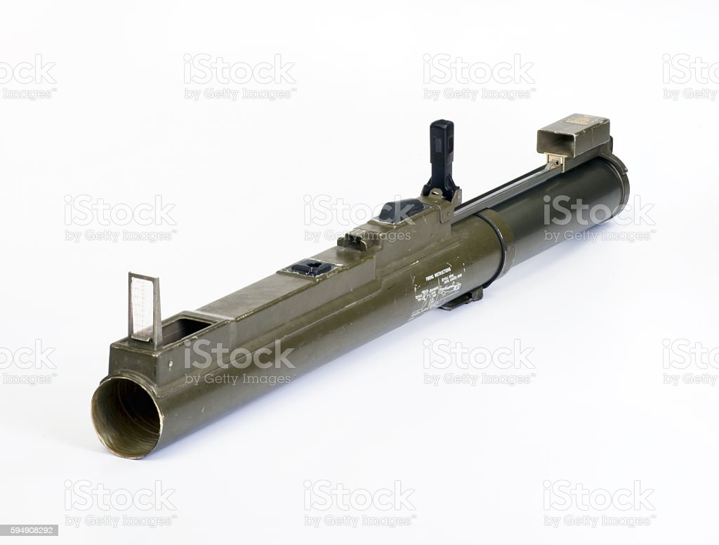 Rocket Propelled Antiarmor Weapon. stock photo