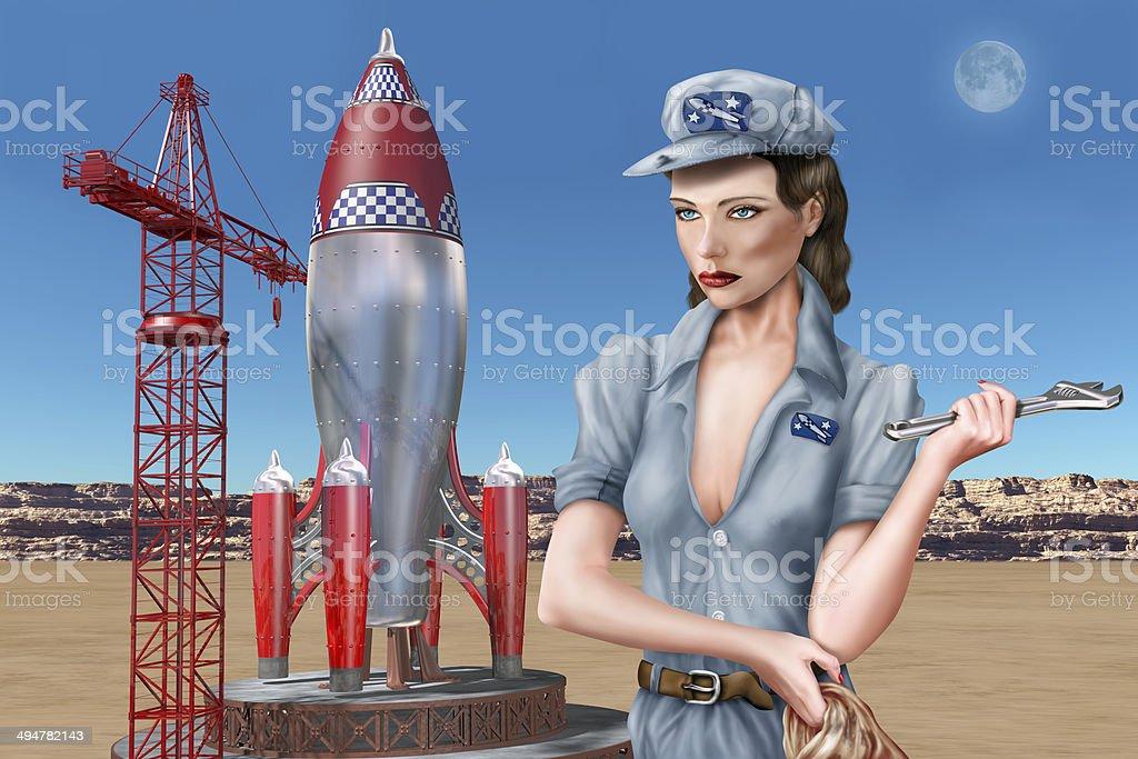 Rocket Science stock photo