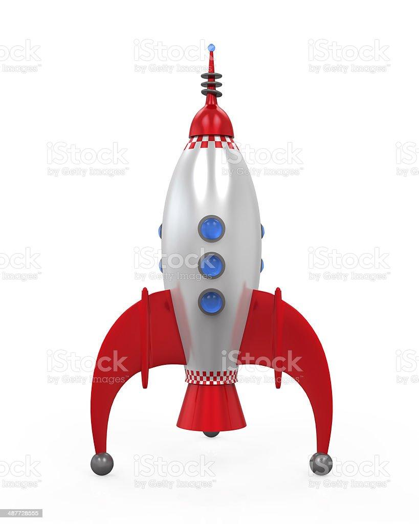 Rocket Space Ship stock photo