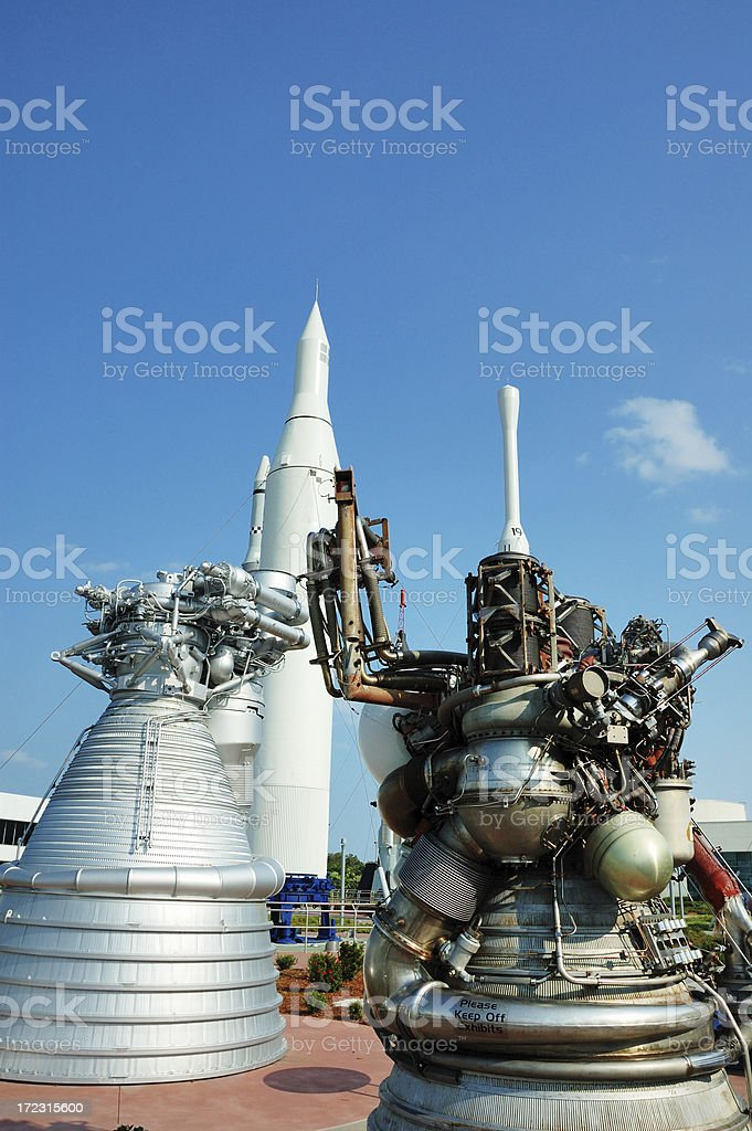 Rockets and Boosters stock photo
