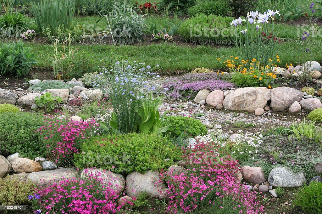 rock-garden royalty-free stock photo