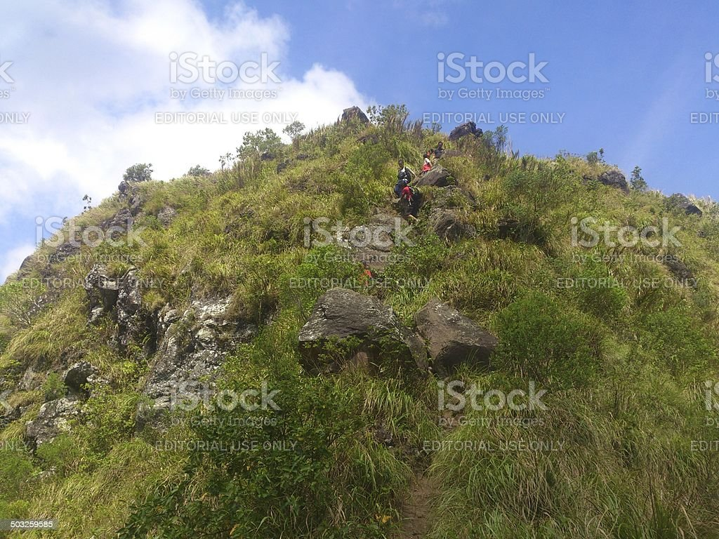 Rockies at Mt. Maculot stock photo