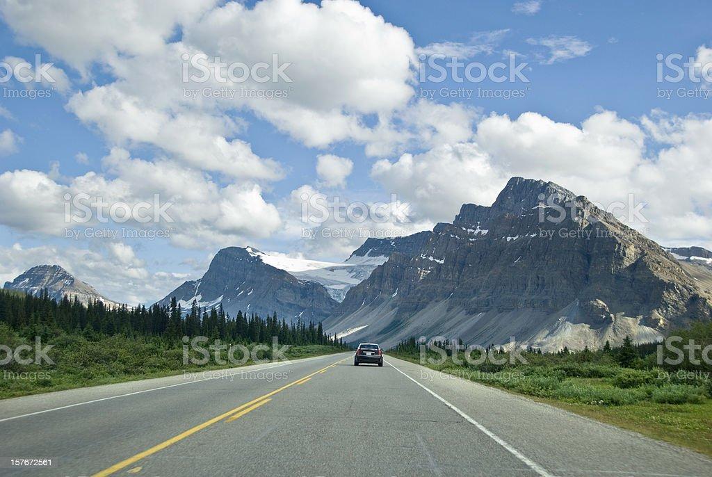 Rockies Highway stock photo