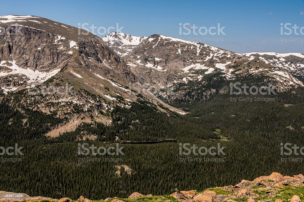 Rockies View stock photo