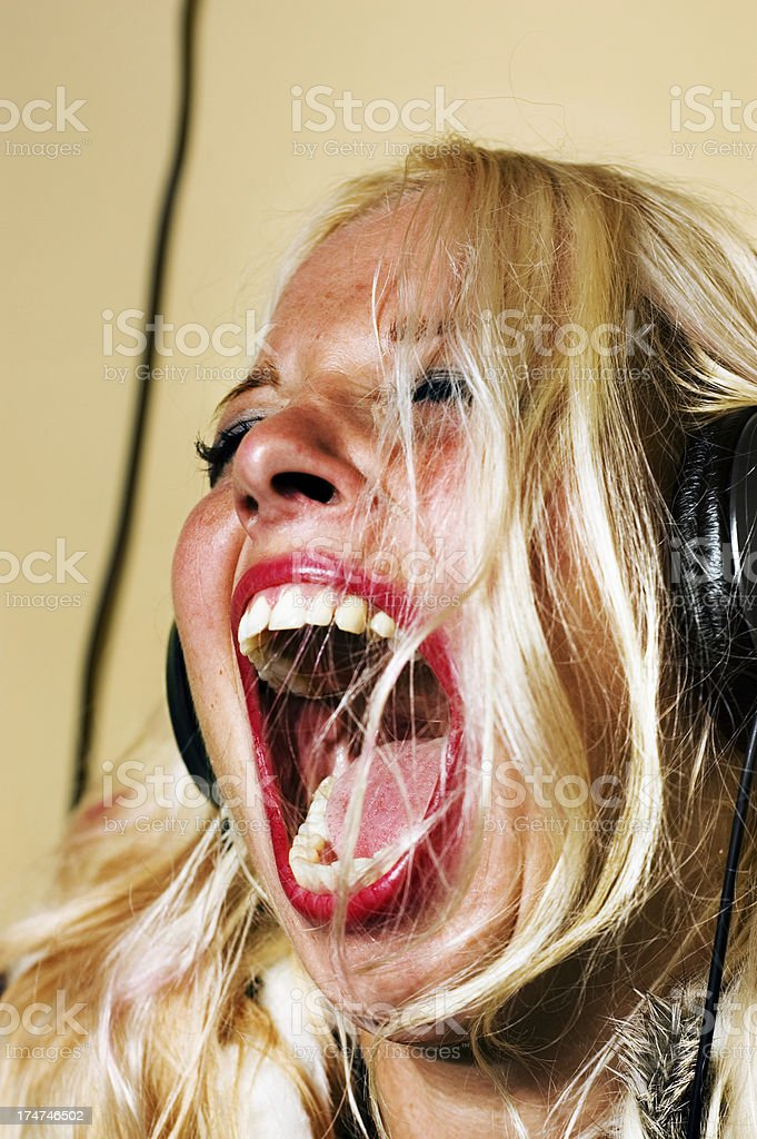 Rockin' Out royalty-free stock photo