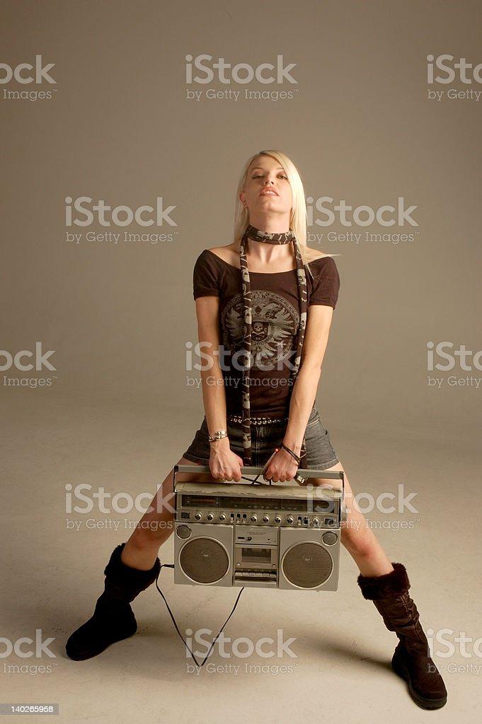 rockin stock photo