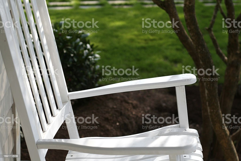 rocking chair royalty-free stock photo