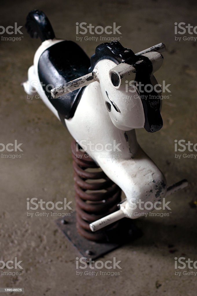 Rocking horse 1 stock photo