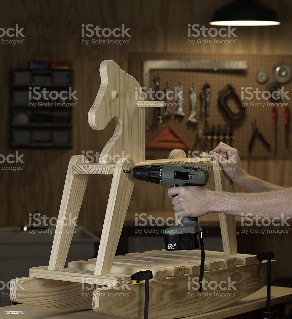 Rocking Horse royalty-free stock photo