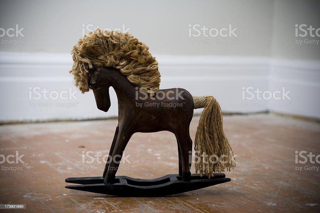 Rocking Horse Toy royalty-free stock photo