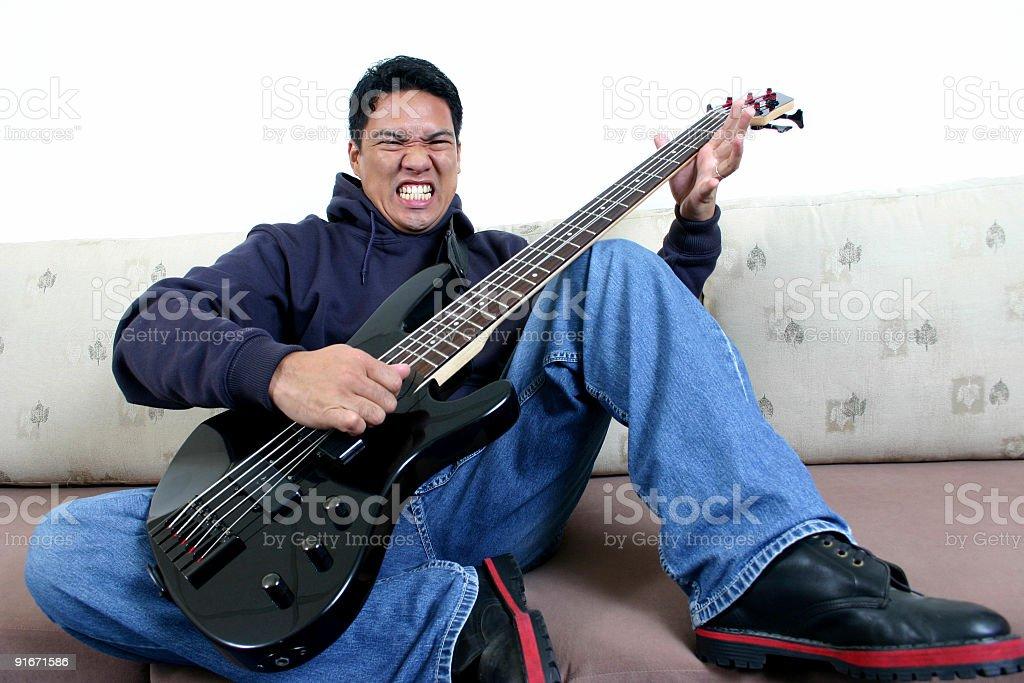 Rock'n'roll 3 Lizenzfreies stock-foto