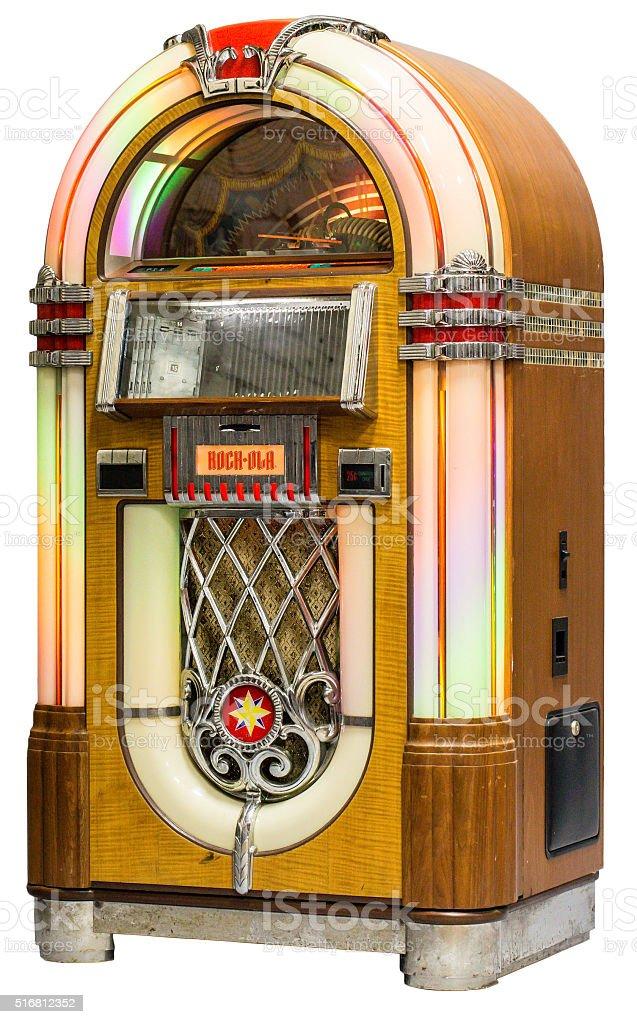 Rockola CD Bubbler Jukebox stock photo