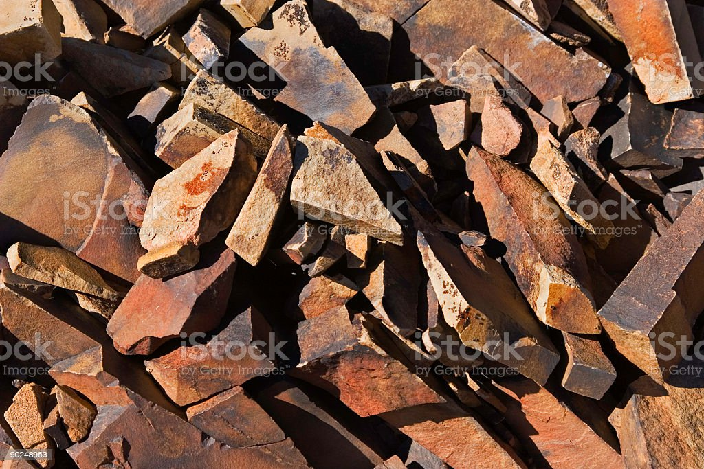 Rockpile Abstract royalty-free stock photo