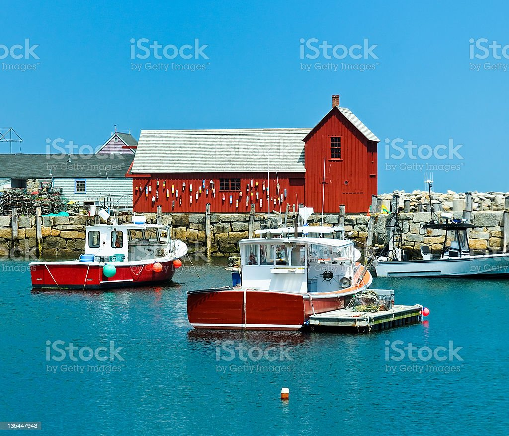 Rockport, Massachusetts stock photo