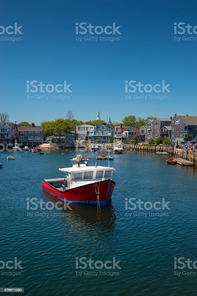 Rockport Massachusetts stock photo