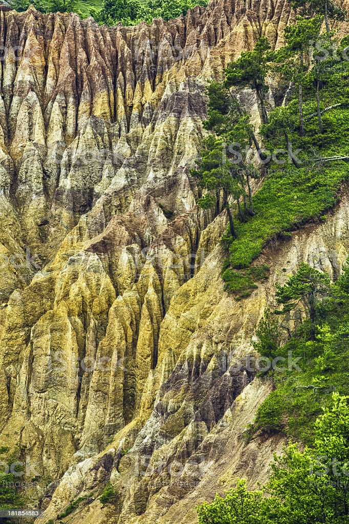 rocks and forest royalty-free stock photo