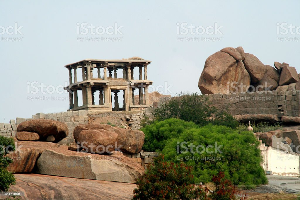 Rocks and Gallery stock photo
