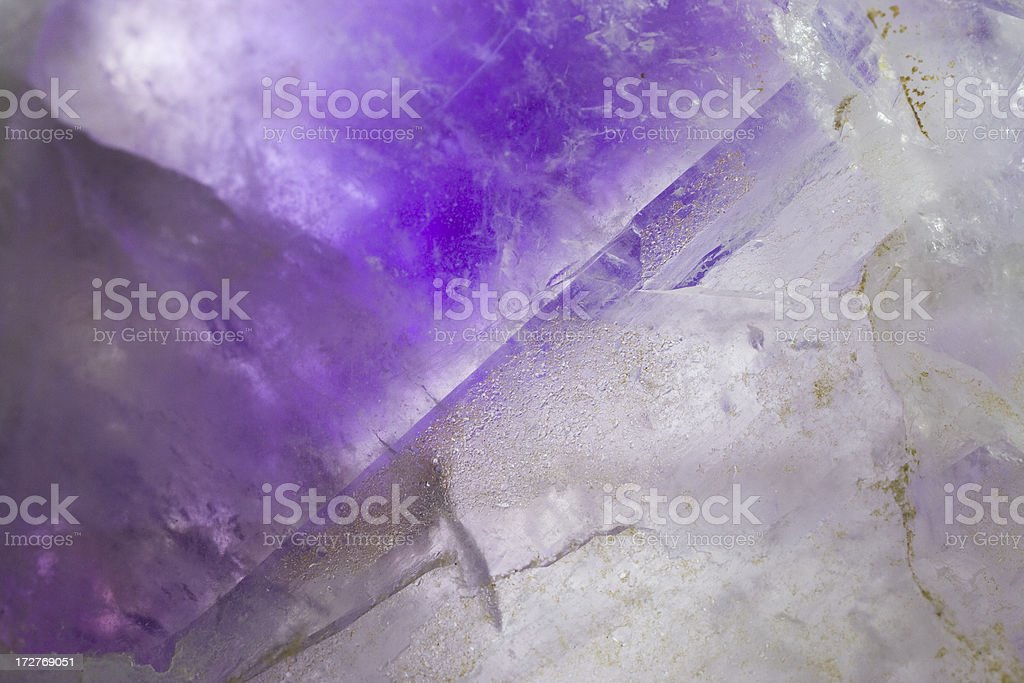 Rocks and Minerals - Amethyst royalty-free stock photo