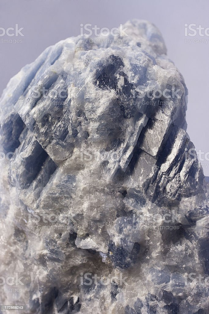 Rocks and Minerals - Calcite royalty-free stock photo