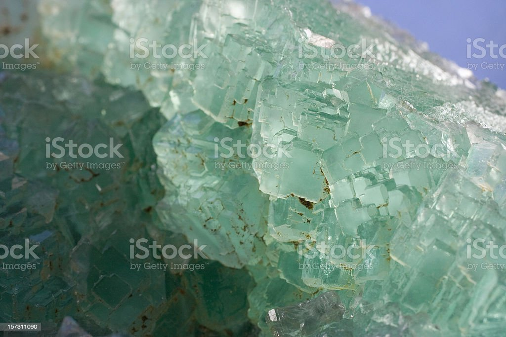 Rocks and Minerals - Fluorite stock photo