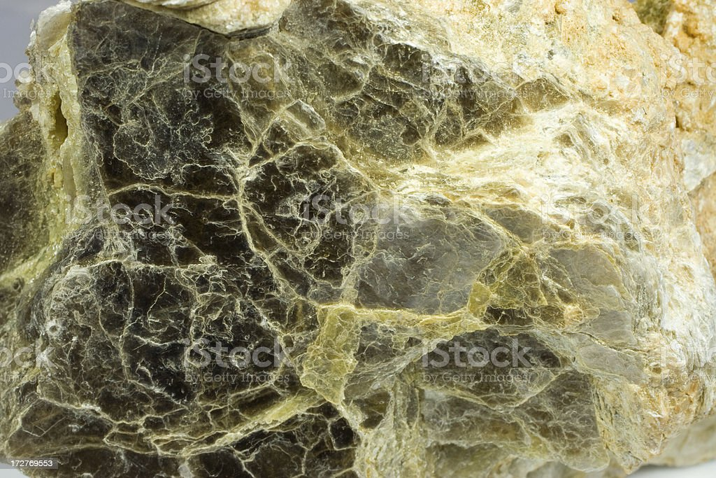 Rocks and Minerals - Lepidolite Mica stock photo