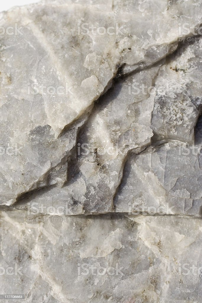 Rocks and Minerals - Plagioclase Feldspar Andesine stock photo