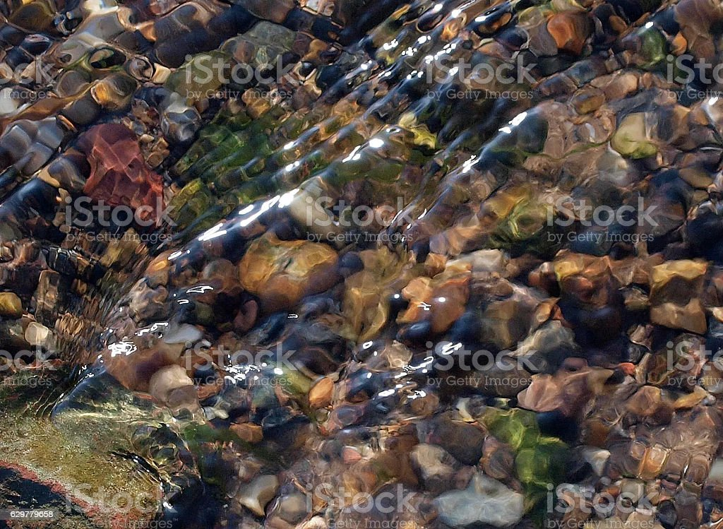 Rocks and Ripples stock photo
