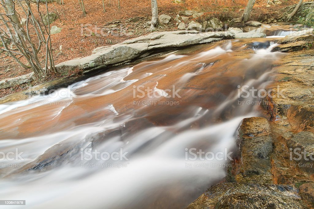 Rocks and water. royalty-free stock photo