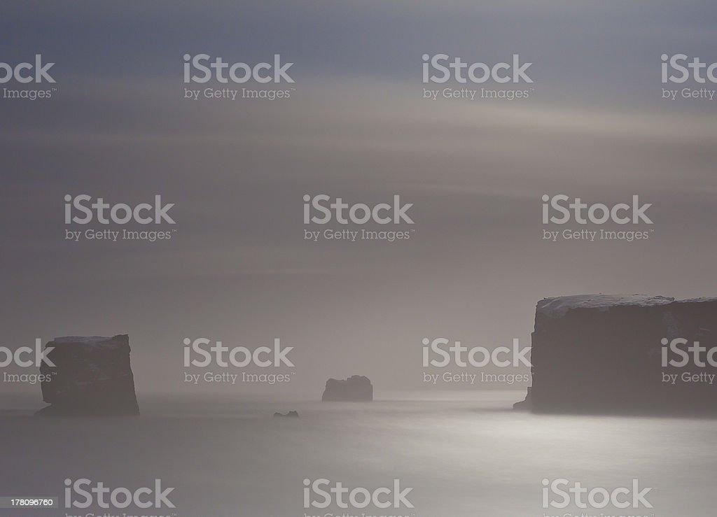 Rocks at sea royalty-free stock photo