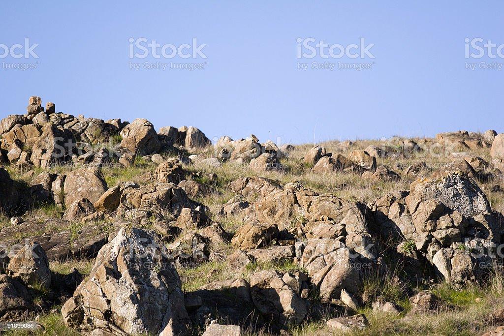 Rocks Close royalty-free stock photo