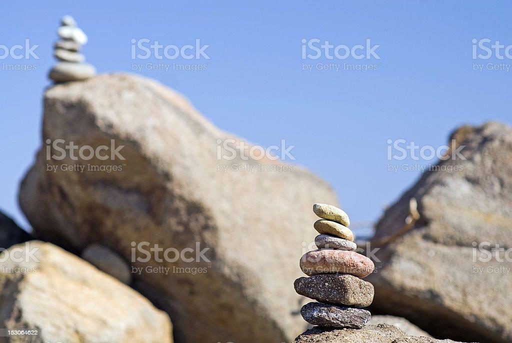 rocks detail stock photo