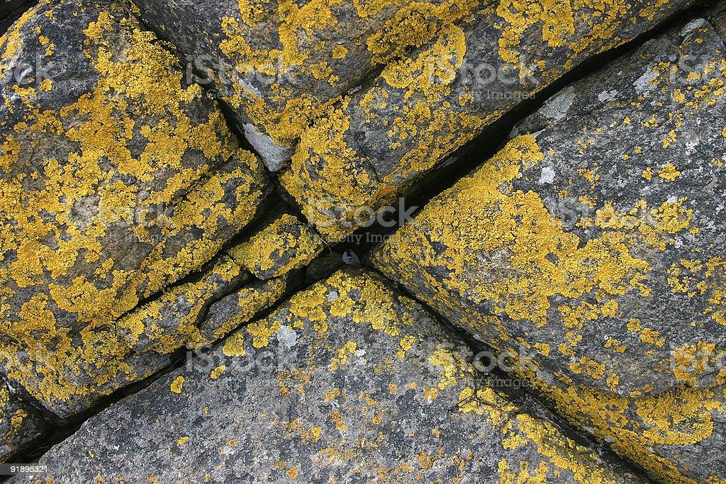 Rocks diagonal royalty-free stock photo