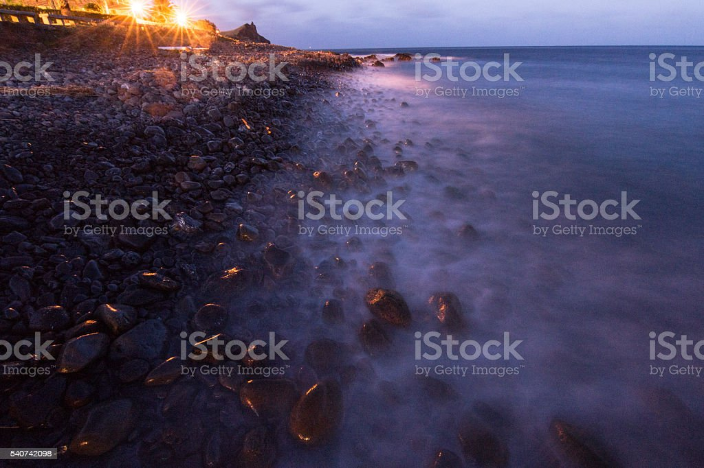 Rocks in Madeira .2 stock photo
