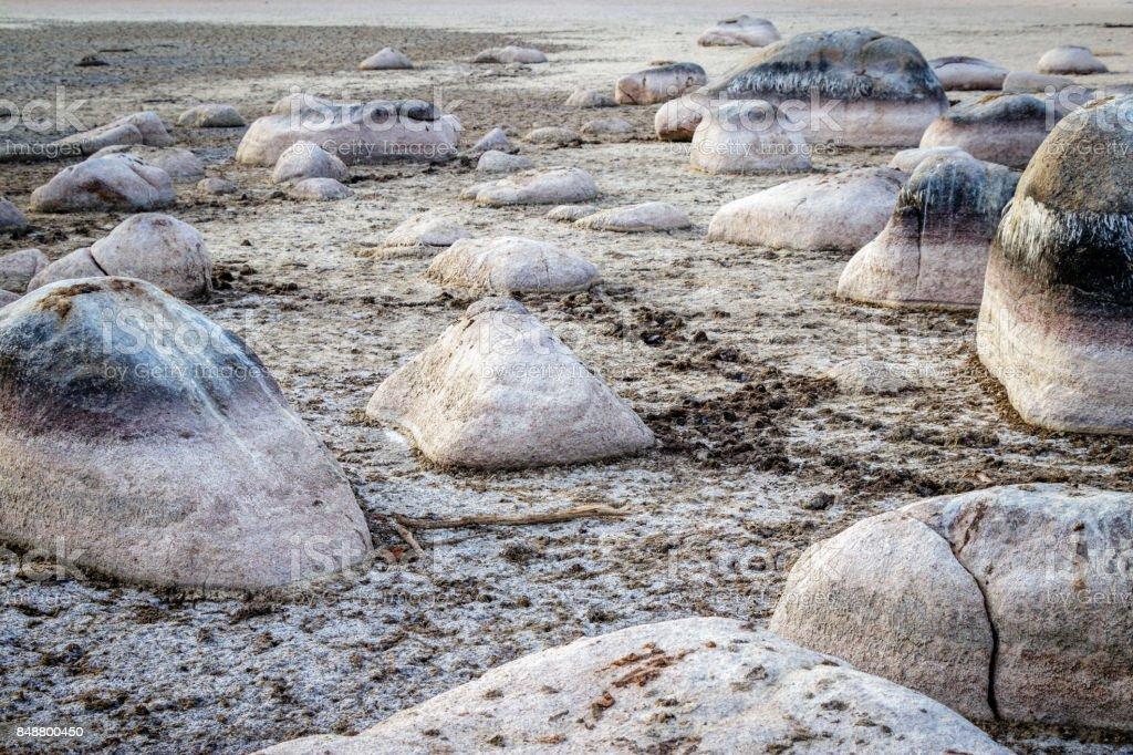 Rocks in Padulu Tortu stock photo