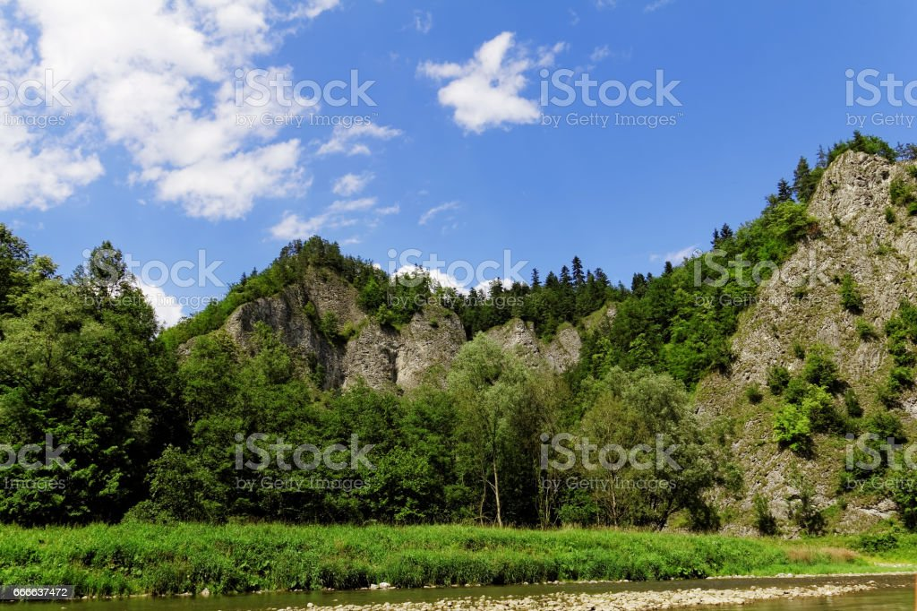 rocks in the mountains stock photo