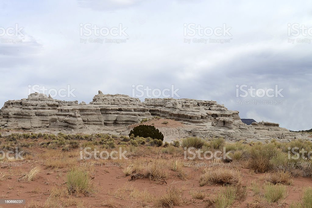 Rocks of Abiquiu stock photo