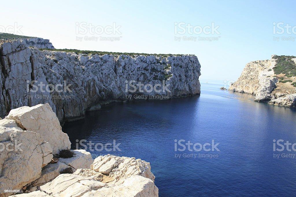 Rocks of Sardinia stock photo
