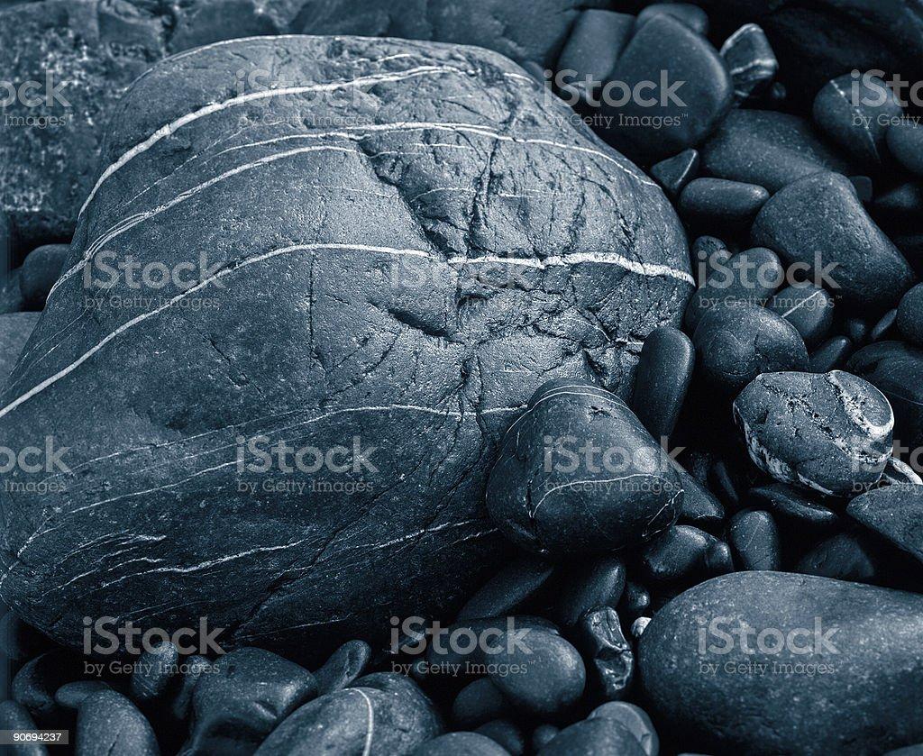 Rocks on the Beach. royalty-free stock photo