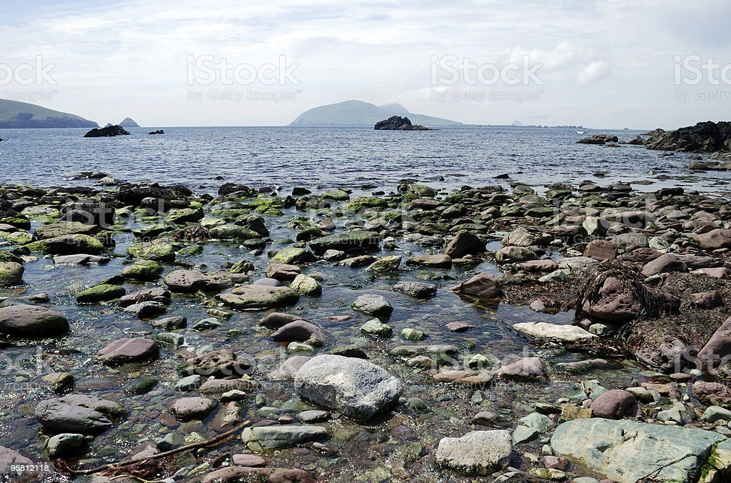 Rocks on the Coast royalty-free stock photo