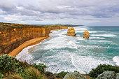 Rocks on the Great Ocean Road, Australia