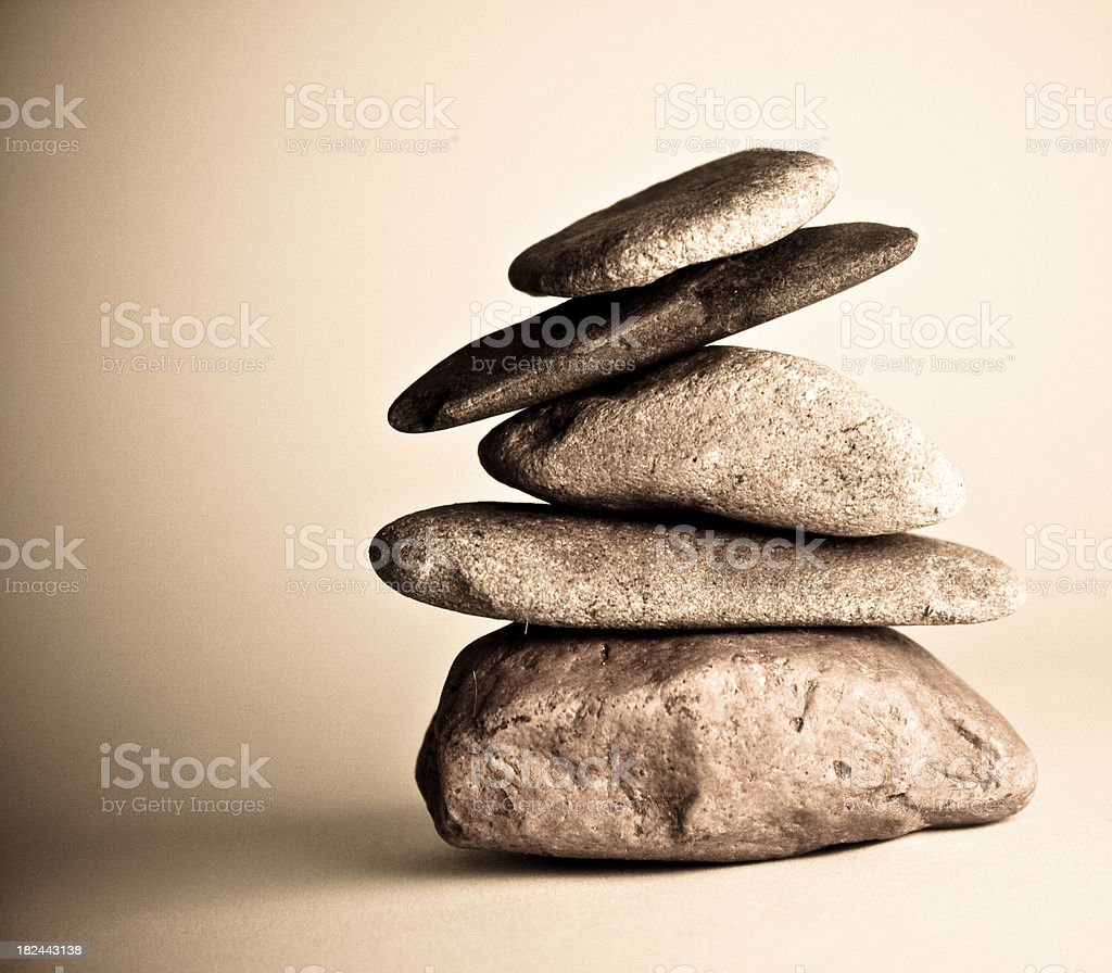 Rocks royalty-free stock photo