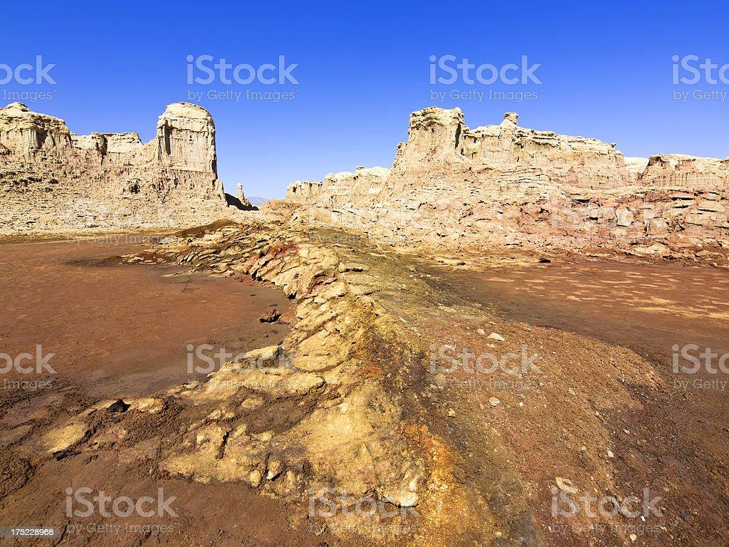 Rocks town royalty-free stock photo