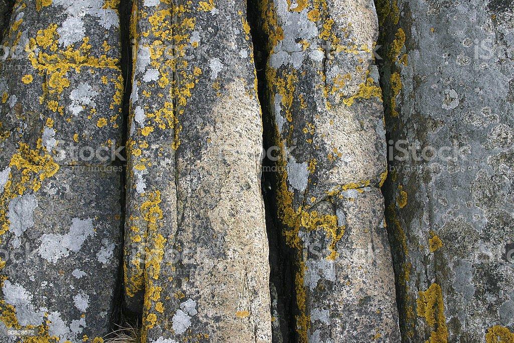 Rocks vertical royalty-free stock photo