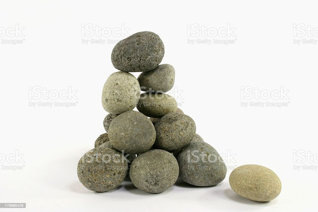 rocks zen stones royalty-free stock photo