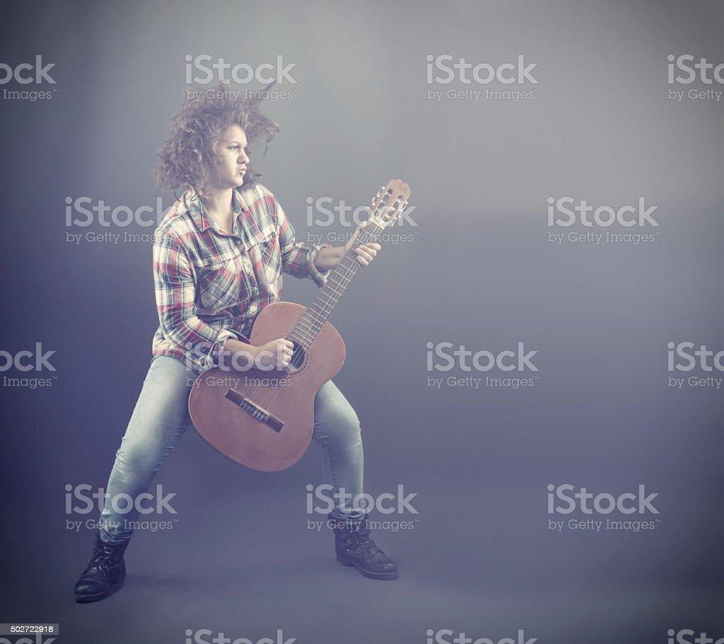 Rockstar stock photo