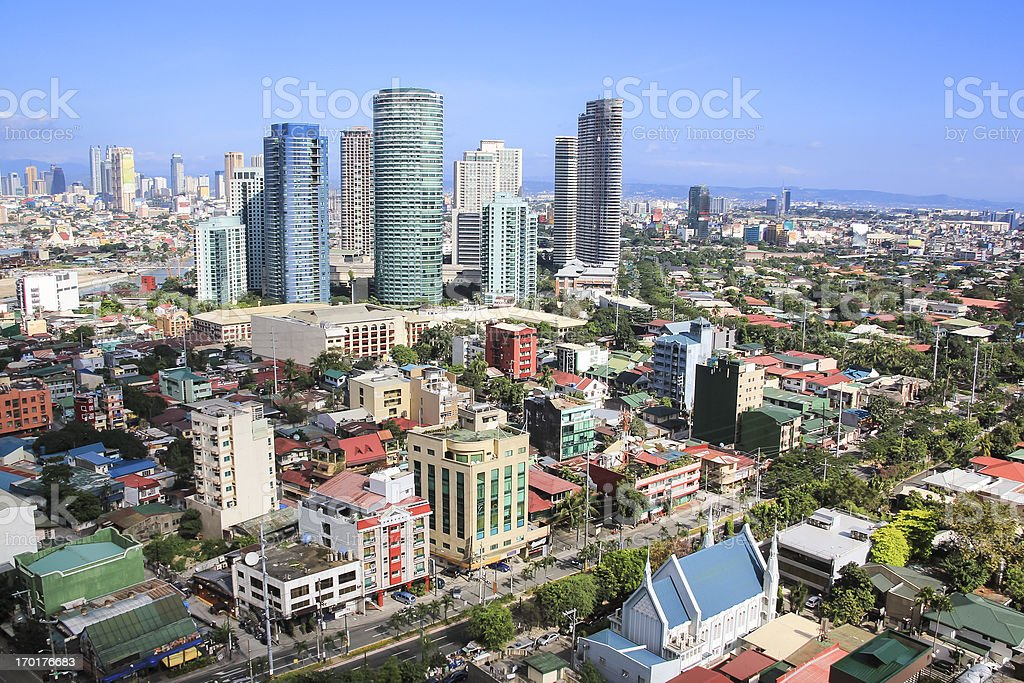 rockwell makati city manila philippines stock photo