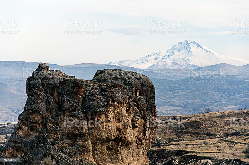 rocky and mountain stock photo